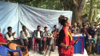 kopila gurung dance with shree kalika youth club program in fujel dhabe.