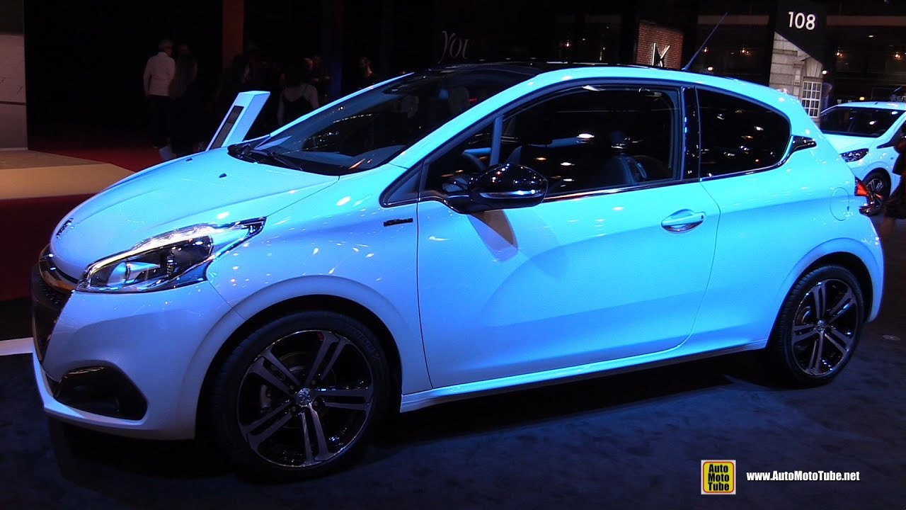 2017 Peugeot 208 GT Line - Exterior and Interior Walkaround - 2016 ...