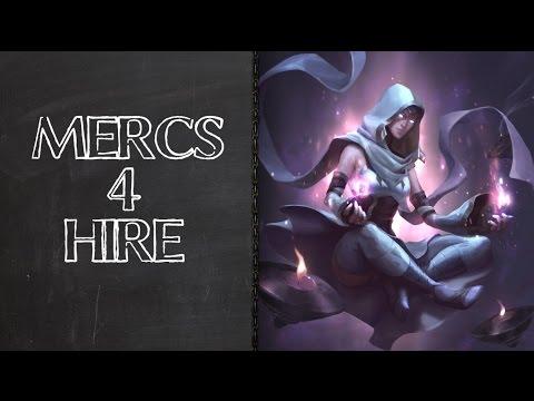 [ HEX TCG ] Mercenary Highlight - Count Davian & Baxoth
