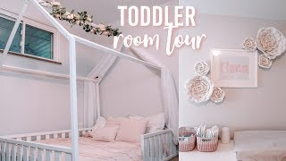 TODDLER ROOM TOUR | TODDLER FLOOR BED