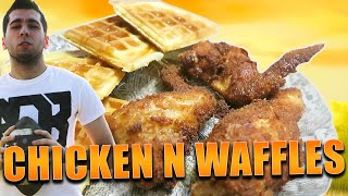 Making Chicken and Waffles [Happy Thanksgiving]