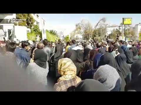 Iranians Protest Transmitter Jamming In Shiraz