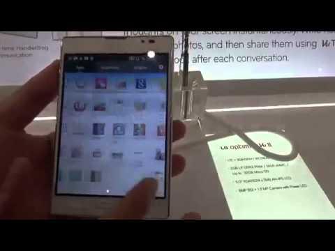 Trên tay LG Optimus Vu II