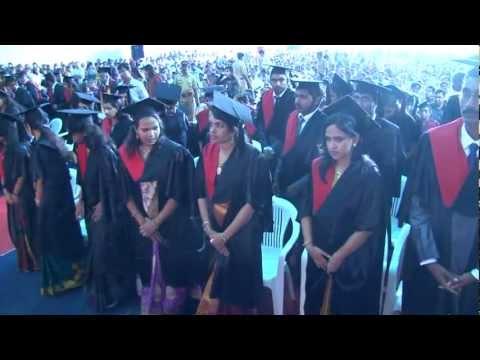 5th Batch Convocation, CMC, Kochi, Dr. APJ Abdul Kalam. Video 1
