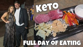 KETO FULL DAY OF EATING | SNACK PLATE & ZOODLES