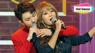 Cover images Hyolyn X Jooyoung - Erase, 효린 x 주영 - 지워, Show Champion 20141126