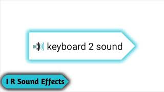 Keyboard sound effect - Copyright Free Sound Effects