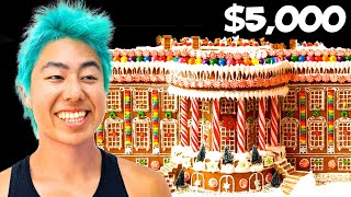 Best Giant Gingerbread Mansion Wins $5,000 | ZHC Crafts
