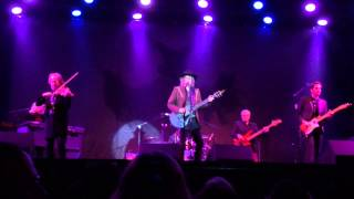 The WATERBOYS Live San Diego 2015 1of5: A Girl Called Johnny, We Will Not Be Lovers