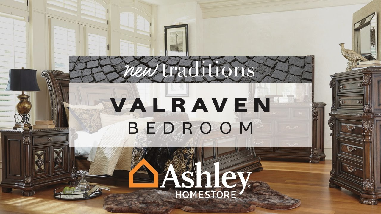 Ashley HomeStore | Valraven Bedroom - YouTube