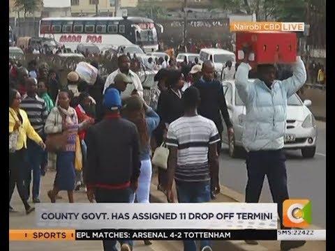 Nairobi CBD no-go zone for matatus