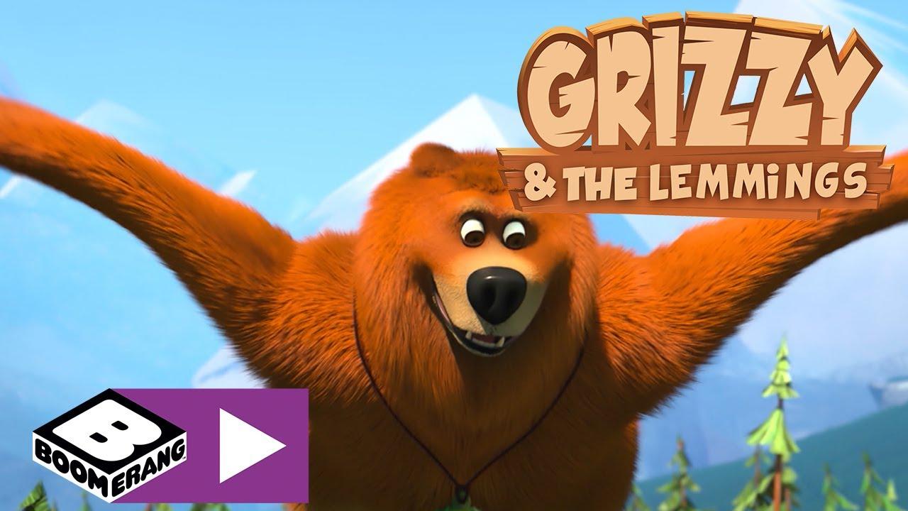 Grizzy i lemingi | Moc orła | Boomerang