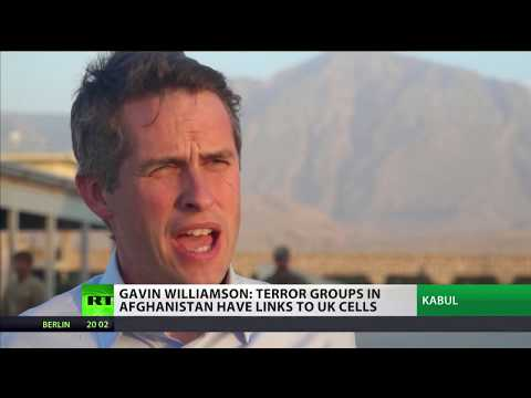 Gavin Williamson: terror groups in Afghanistan have links to UK cells
