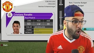 One of AA9skillz's most viewed videos: MANCHESTER UNITED SIGN CRISTIANO RONALDO!! - FIFA 16 Career Mode #17