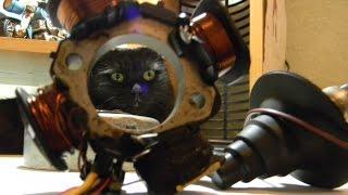 видео Зазор между датчиком холла и магнитом скутера