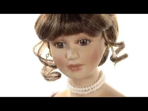 Collectible Ethnic Doll – La Quinceanera Porcelain Doll