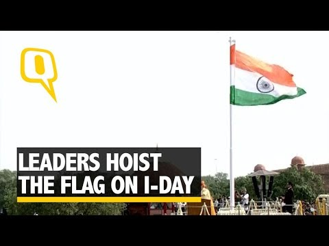 From Modi to Mufti, Leaders Celebrate the 71st Independence Day