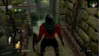 Dark Souls Area Walk-through:  Undead Asylum (2nd Visit)