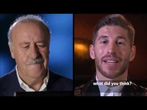 Vicente del Bosque habla de Sergio Ramos