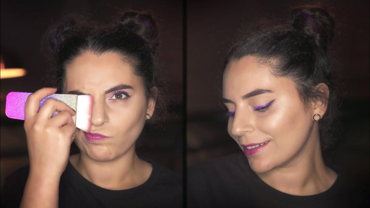 Açıktan Koyuya Geçişli Eyeliner 😍 💟| colormecoloryou.com