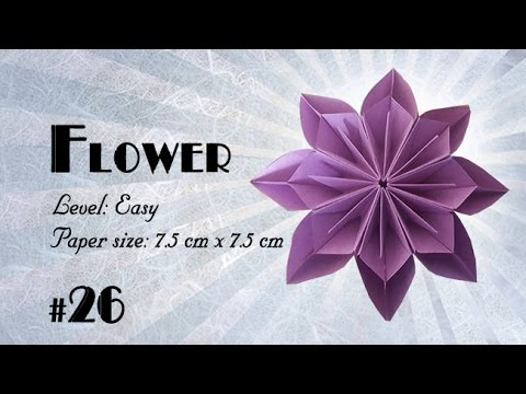 DIY How to Fold an Origami Kusudama Flower Ball (Easy Paper Craft ... | 360x480