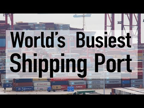 The Busiest Shipping Port in the World!! // Along the Yangtze Day 9