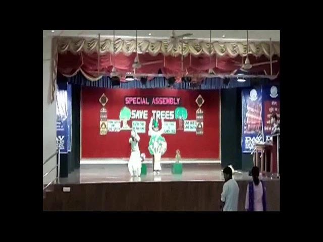 BHUBANESWAR UNIT-8,DAV SCHOOL STA-1,SEC-C, SPECIAL ASSEMBLY SAVE TREES