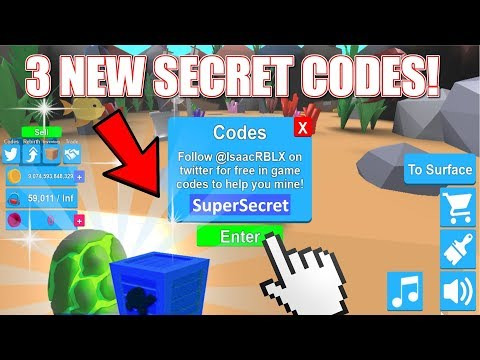 Mining Simulator 3 New Codes | Atlantis Update (Roblox)