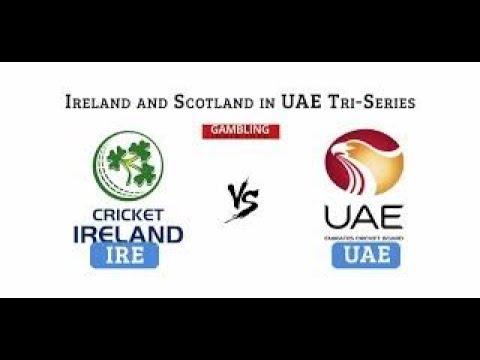 United Arab Emirates vs Ireland, 2nd Tri Series Match, Dubai, 13th JAN 2018