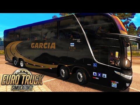 Euro Truck Simulator 2 Mod Bus | Garcia - São Paulo/Apucarana - G27