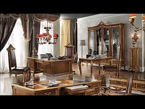 Classic office studio atelier luxury interior design & home decor