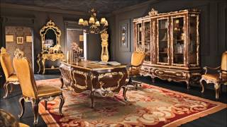 Classic office studio atelier luxury interior design & home decor(, 2015-08-31T10:23:45.000Z)
