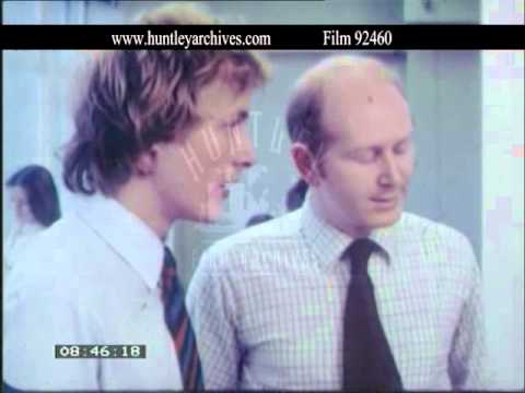 Bill Nighy  Office Manager, 1970's  Film 92460