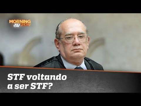 STF Voltando A Ser STF? O Que Gilmar Quis Dizer