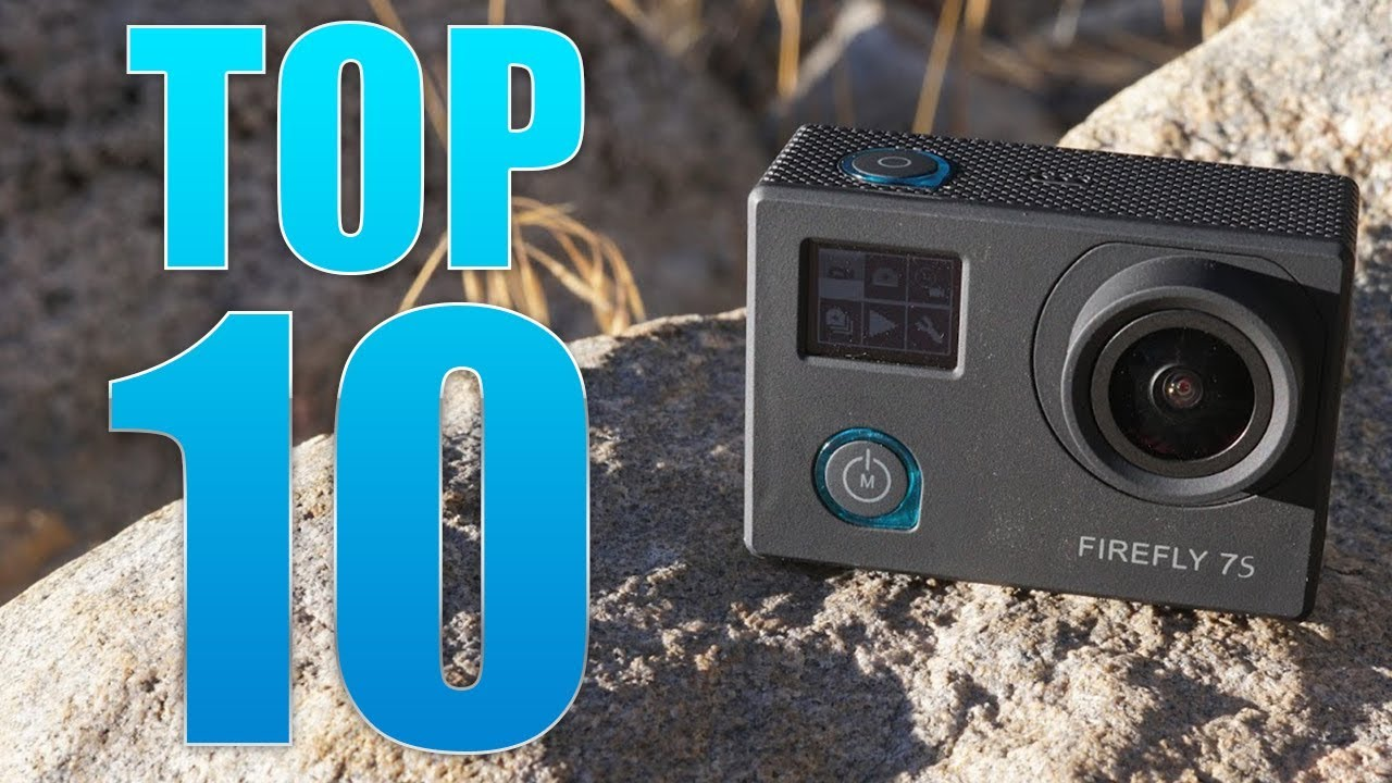 top 10 best cheap action cameras for recording your adventures youtube. Black Bedroom Furniture Sets. Home Design Ideas