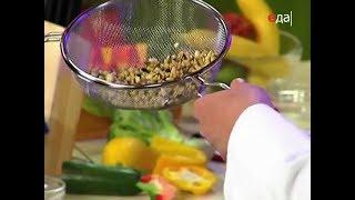 Как отжимать баклажаны перед жаркой через сито / от шеф-повара / Илья Лазерсон / Кулинарный ликбез