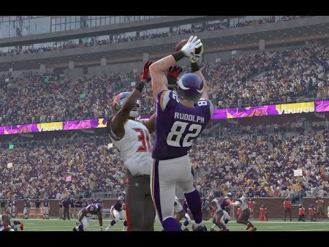 Madden 16 (Xbox One) Minnesota Vikings vs Tampa Bay Buccaneers Gameplay