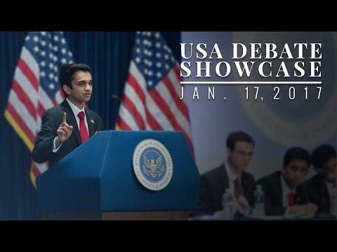 USA Debate Team Showcase — 01/17/2017