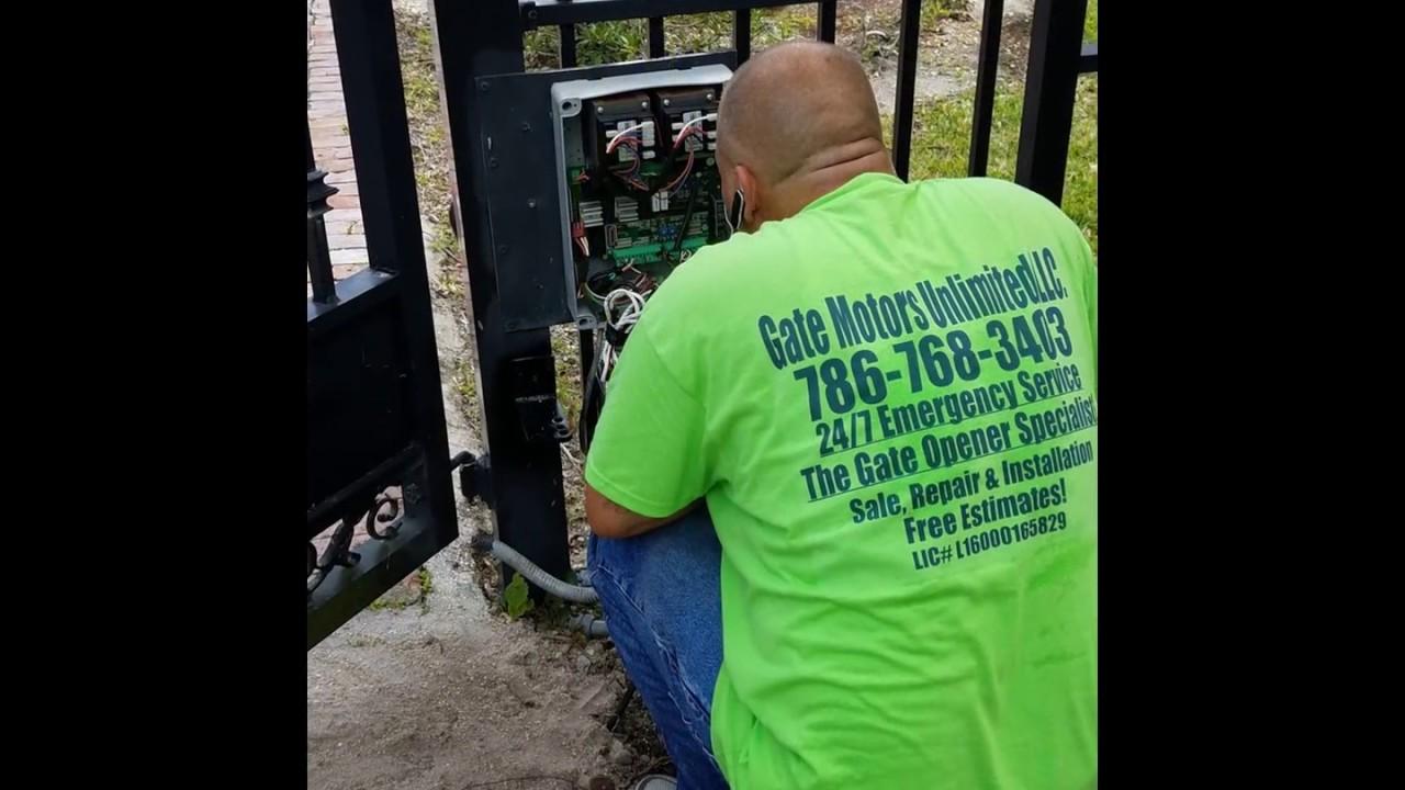 Swing Gate Opener Motor Installation 24 7 Emergency