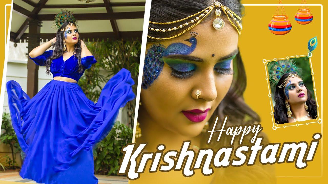 Happy Krishnastami || Sreemukhi Latest Video || Sreemukhi