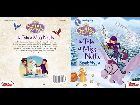 Disney SOFIA THE FIRST The Tale of Miss Nettle Featuring OLAF Read Aloud Story with Character Voices