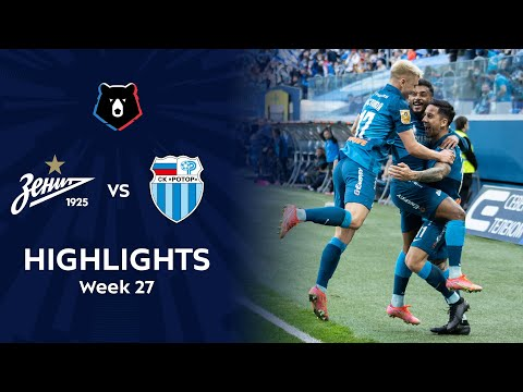 Zenit Petersburg R. Volgograd Goals And Highlights