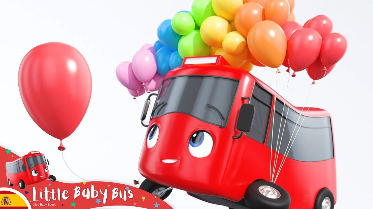 Buster y los globos | Nanas para bebés | Little Baby Bus ...