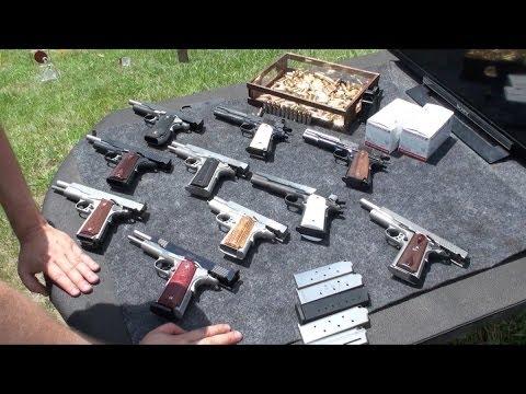 Pistolas 1911, Armas de Fuego, Cal 45, en Español