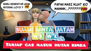 Suami minta jatah eps:01|| kartun animasi lucu