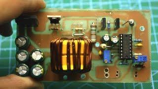 Мощный стабилизатор тока и напряжения на TL494