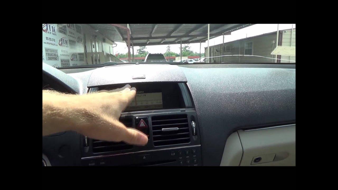 043169 2009 MERCEDES BENZ C300 LUXURY SEDAN USED CAR ...