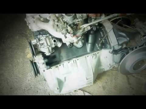 Audi 60L - starting the engine