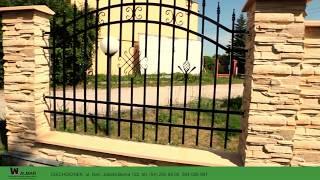 Nowoczesny system budowy ogrodzeń - Film instruktażowy. WALMAR Ciechocinek.