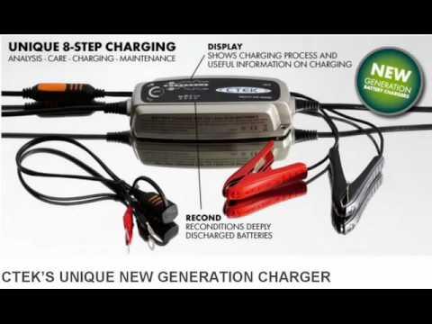 Beste Ctek XS4003 Battery Charger Batteries Direct - YouTube PW-62